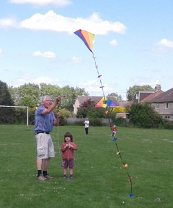 Sunday kite flying 1